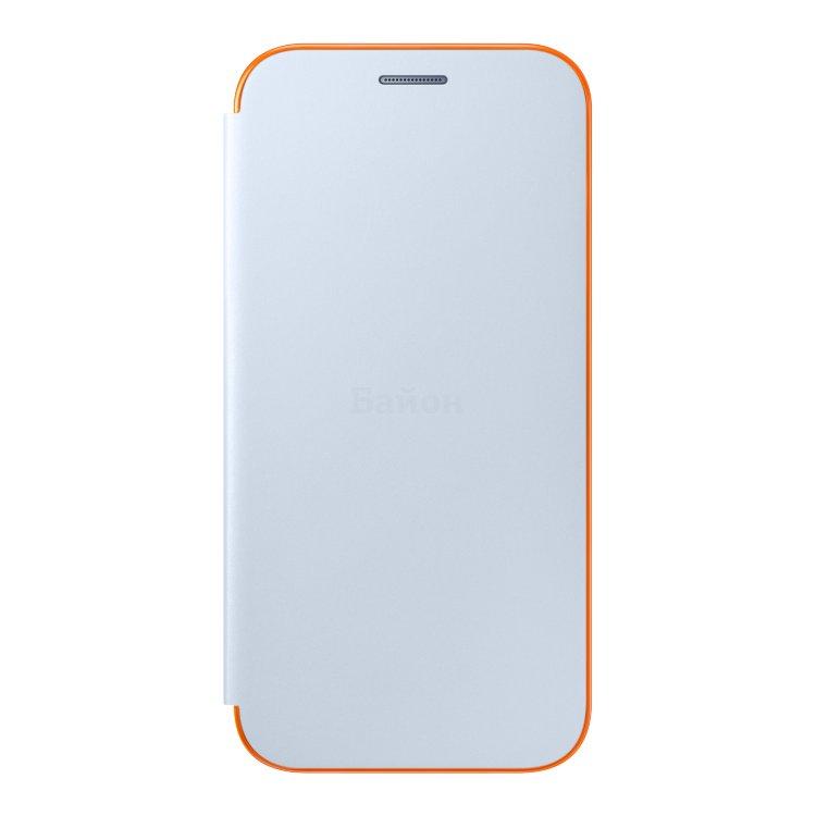 Samsung Neon Flip Cover для Samsung Galaxy A3 2017 чехол-книжка, поликарбонат
