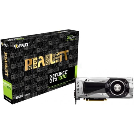 Palit PCI-E PA-GTX1070 Founders Edition 8192Мб, GDDR5