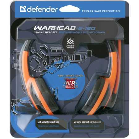 Defender Warhead G-120 Черный/оранжевый