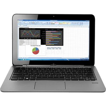 """HP Elite x2 1011 L8T77ES 11.6"""", 1100МГц, 8Гб RAM, 256Гб, Серебристый, Wi-Fi, Windows 8.1, Bluetooth, 3G, Intel Core M, DVD нет"""