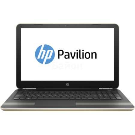 "HP Pavilion 15-aw000 15.6"", AMD A9, 2900МГц, 8Гб RAM, DVD-RW, 1Тб, Windows 10, Золотой, Wi-Fi, Bluetooth"