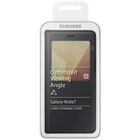 Samsung View Standing Cover для Samsung Galaxy Note 7 S EF-CN930PBEGRU Черный