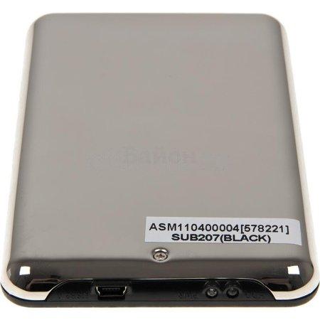 """Внешний корпус для HDD AgeStar SUB2O7 SATA II пластик/сталь черный 2.5"""""""