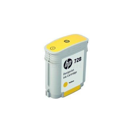 HP 728 Желтый, Картридж струйный, Стандартная, нет