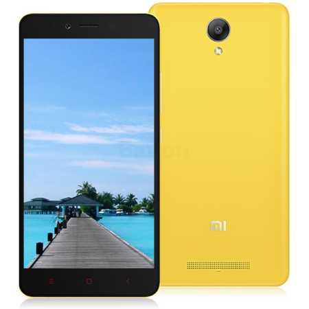 Xiaomi Redmi Note 2 16Гб, Желтый