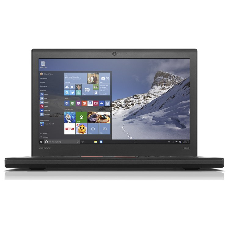 "Lenovo ThinkPad X260 20F6S02900 12.5"", Intel Core i7, 2500МГц, 8Гб RAM, DVD нет, 256Гб, Windows 10, Windows 7, Wi-Fi, Bluetooth"