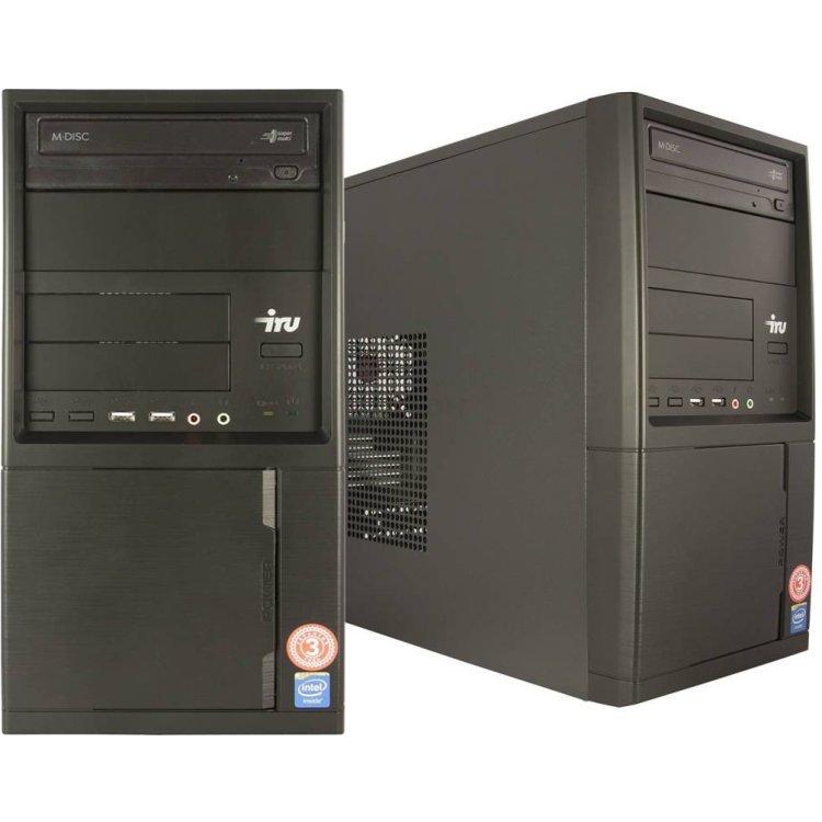 IRU Home 310 Intel Core i3, 3900МГц, 4Гб RAM, 1024Гб, DOS, Черный