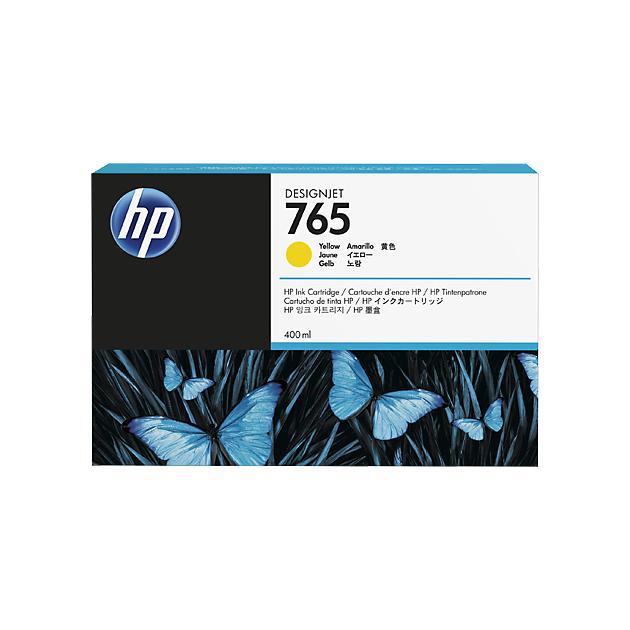 HP Inc. Cartridge HP 765  желтый для HP DJ Т7200 400-ml