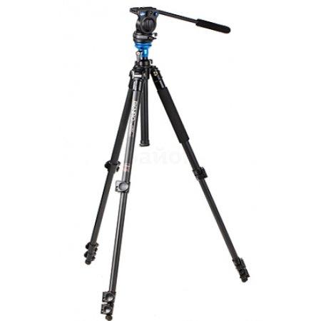 Benro A3573FS6 Черный, Для видеокамер, Трипод - напольный (тренога)