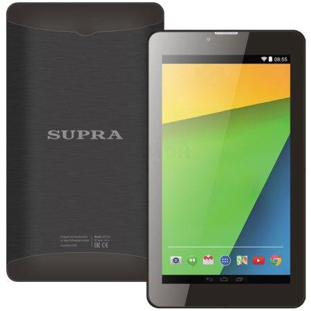 Supra M72DG Wi-Fi и 3G, Черный, 8Гб