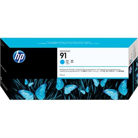 HP 91 , Картридж струйный, Стандартная, нет Синий