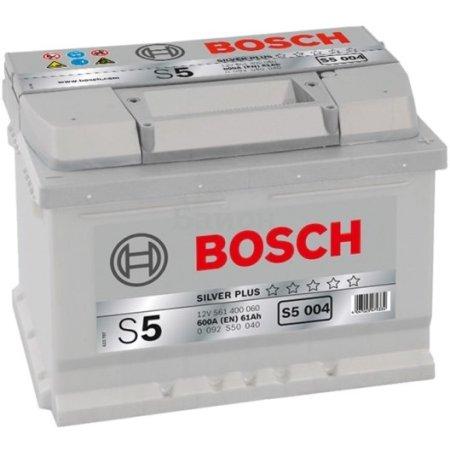 Аккумулятор BOSCH S5 004 Silver Plus 561 400 060, 61e Ач