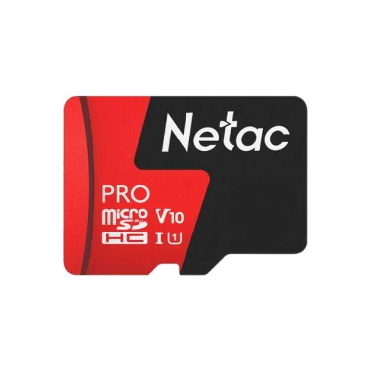 Netac MicroSDHC Memory Card P500 Extreme Pro 16GB w/ad