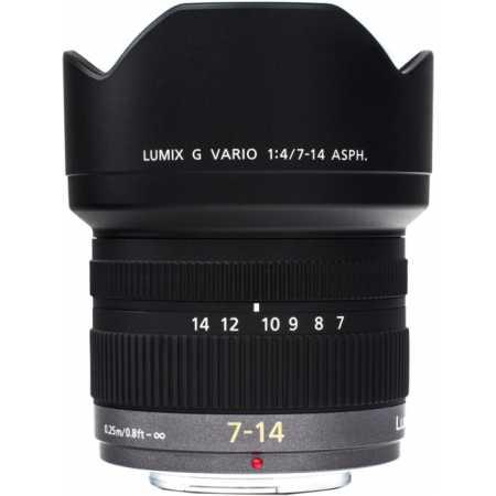 Panasonic Lumix 7-14mm f/4.0 Aspherical Широкоугольный, Micro 4/3