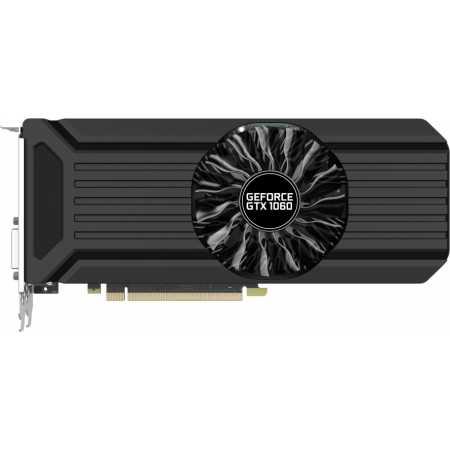 Palit GeForce GTX 1060 StormX 3G 3072Mb , GDDR5, 1506MHz, PCI-Ex16 3.0