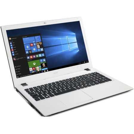 "Acer Aspire E5-573-C76S 15.6"", 1400МГц, 4Гб RAM, 500Гб, Белый, Wi-Fi, Windows 10, Bluetooth, Intel Celeron"