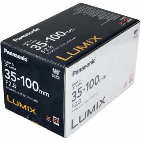 Panasonic 35-100mm f/2.8 Lumix G X O.I.S. Телеобъектив, Micro 4/3