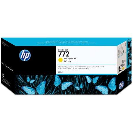 HP 772 Желтый, Картридж струйный, Стандартная, Желтый