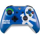 Геймпад беспроводной Microsoft Xbox One ФК Динамо «Чёрный паук» Синий