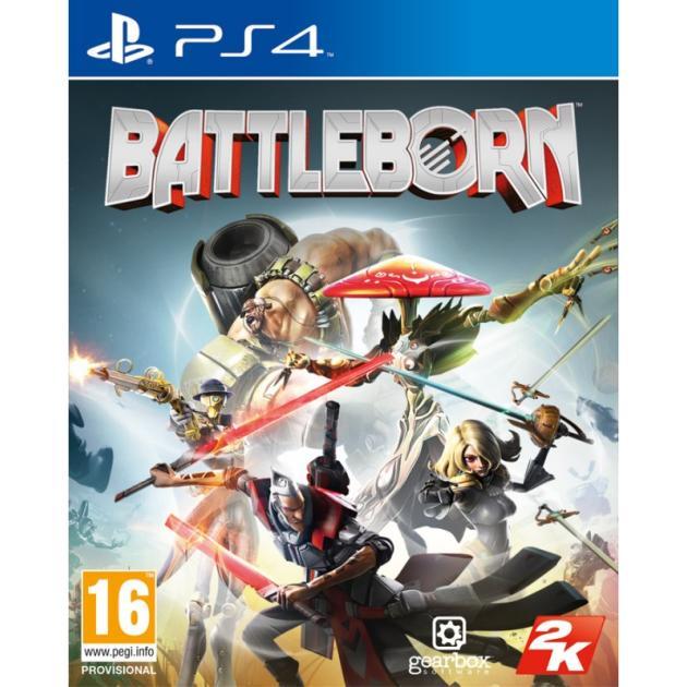 Софтклаб Battleborn Русский язык, Sony PlayStation 4, боевик 5026555418096