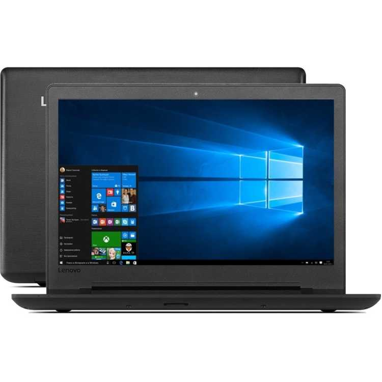"Lenovo IdeaPad 110-15ACL 80TJ00D7RK 15.6"", AMD E-series, 1500МГц, 4Гб RAM, нет DVD, 500Гб, Wi-Fi, Windows 10"