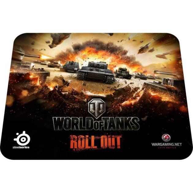Steelseries QcK LE World of Tanks Черный, Игровой