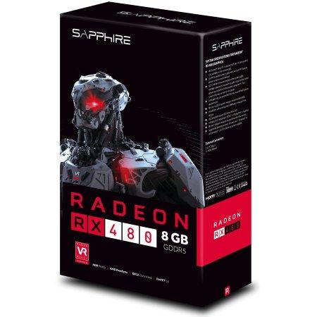 Sapphire Radeon 21260-00-20G RX 480 8192Мб, GDDR5
