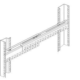 ЦМО Органайзер кабельный горизонтальный раздвижной 450-1000 мм
