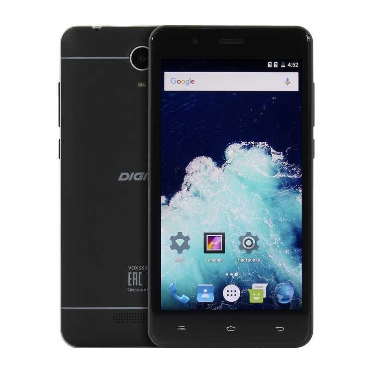 Digma Vox S507 4G 8Гб, Dual SIM, 4G LTE, 3G