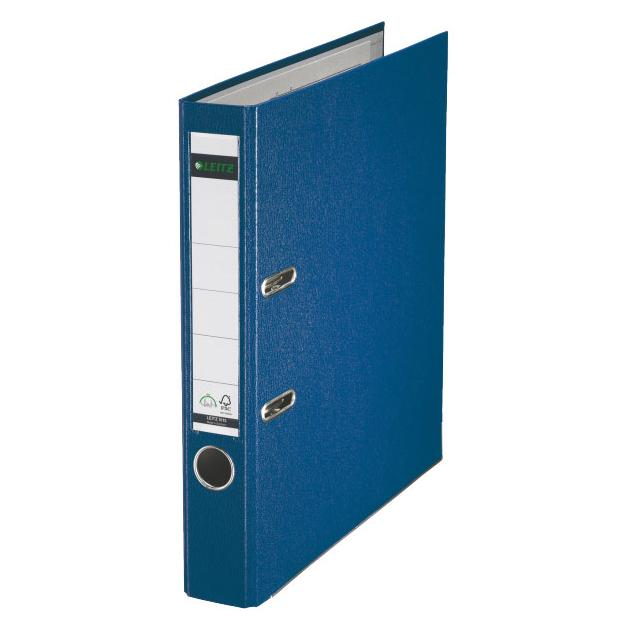 Папка-регистратор Esselte Leitz 10151235P A4 50мм Пластик синий