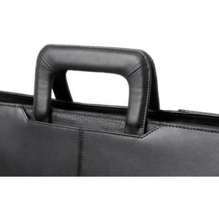 "Dell Executive Leather Attache 13"", Черный, Натуральная кожа"
