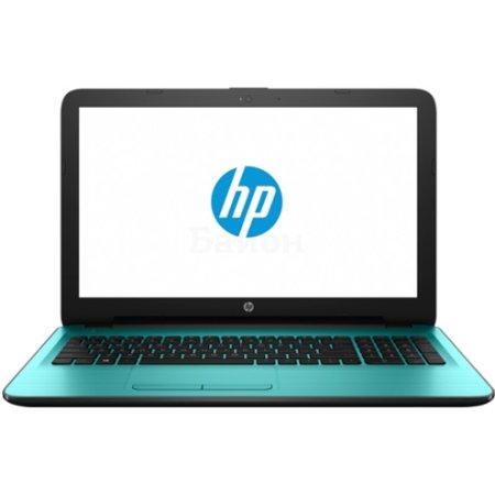 """HP 15-ba043ur 15.6"""", AMD E-series, 1800МГц, 4Гб RAM, DVD нет, 512Гб, Бирюзовый, Wi-Fi, Windows 10, Bluetooth"""