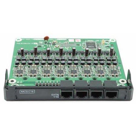 16-портовая плата аналоговых внутренних линий (MCSLC16)