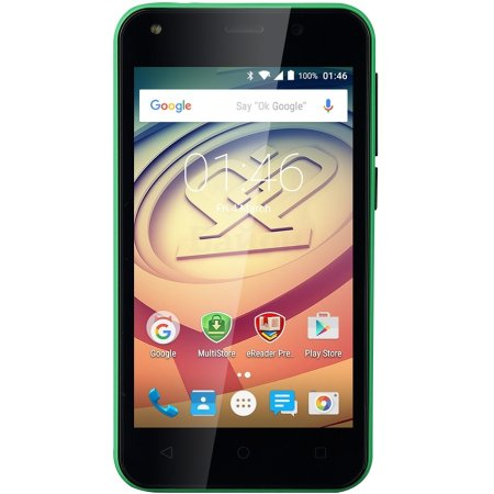 PRESTIGIO Wize L3 3403 DUO GREEN 4Гб, Оранжевый, Dual SIM, 3G