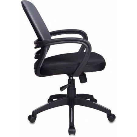 Кресло Бюрократ CH-499/Z4/TW-11 спинка сетка темно-серый Z4 сиденье черный TW-11