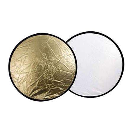 Отражатель круглый золотой - белый 56см CFR-22G