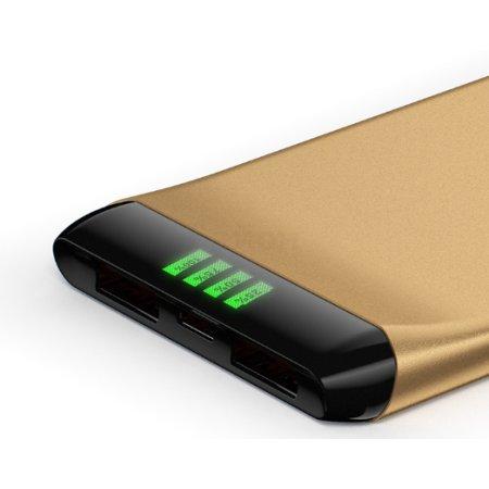 Hiper Power Bank SLS6300 Gold Золотой, 6300мАч