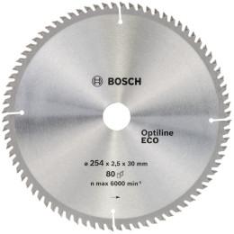 Пильный диск по дереву Bosch 2608641796 d=254мм d(посад.)=30мм (циркулярные пилы)