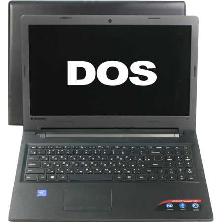 "Lenovo IdeaPad 100-15IBD 80QQ00SERK 15.6"", Intel Pentium, 1.9МГц, 4Гб RAM, DVD нет, 128Гб, Черный, Wi-Fi, DOS, Bluetooth"