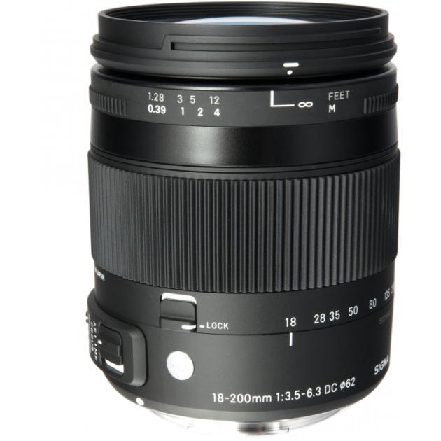 Sigma AF 18-200mm f/3.5-6.3 DC Canon EF-S Универсальный, Canon EF-S B0001307071