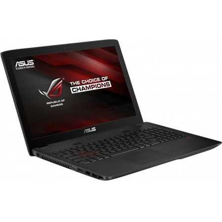 """Asus ROG GL552VX-XO100T 15.6"""", Intel Core i7, 2600МГц, 8Гб RAM, 1Тб, Черный, Wi-Fi, Windows 10, Bluetooth"""