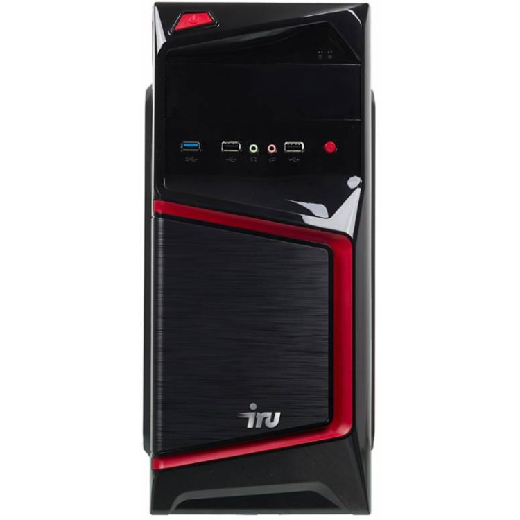 IRU Home 310 Intel Core i3, 3900МГц, 8Гб RAM, 1000Гб, Win 10 Home, Черный