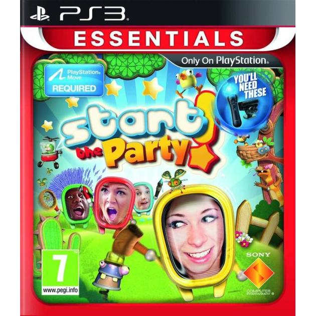 �������! Start the Party! ������� ����, Sony PlayStation 3, ����������� 0711719214748