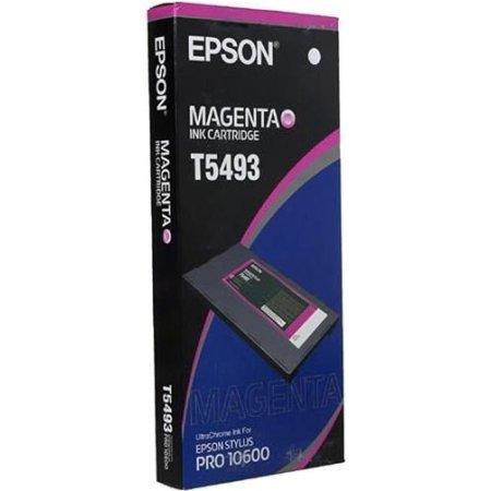 Epson T5493 C13T549300 Пурпурный, Картридж струйный, Стандартная, нет Пурпурный, Картридж струйный, Стандартная, нет