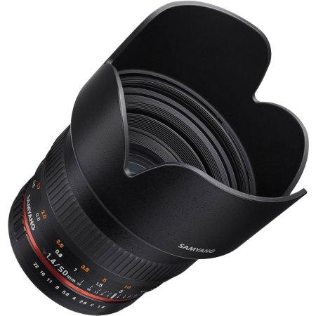 Samyang MF 50mm f/1.4 AS UMC Canon EF Стандартный, Canon EF, Совместимость с полнокадровыми фотоаппаратами