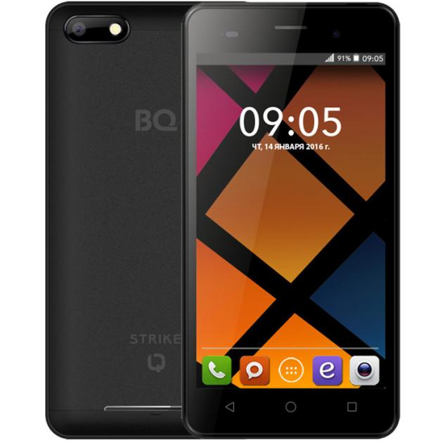 BQ Mobile BQS-5020 Strike смартфон bq mobile bqs 5020 strike black