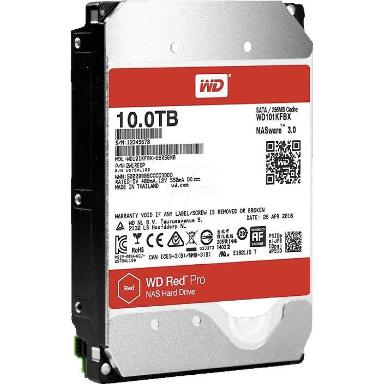 Купить Western Digital Red Pro 10Tb в интернет магазине бытовой техники и электроники