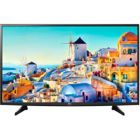 "LG 43UH610V 43"", Черный, 3840x2160, Wi-Fi, Вход HDMI"