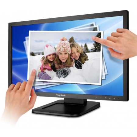 "Viewsonic TD2220-2 21.5"", Черный, DVI, Full HD"