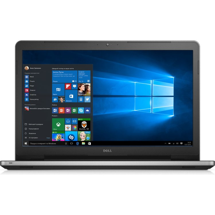 "Dell Inspiron 5759 17.3"", Intel Core i5, 2300МГц, 8Гб RAM, 1Тб, Серебристый, Wi-Fi, Windows 10, Bluetooth"